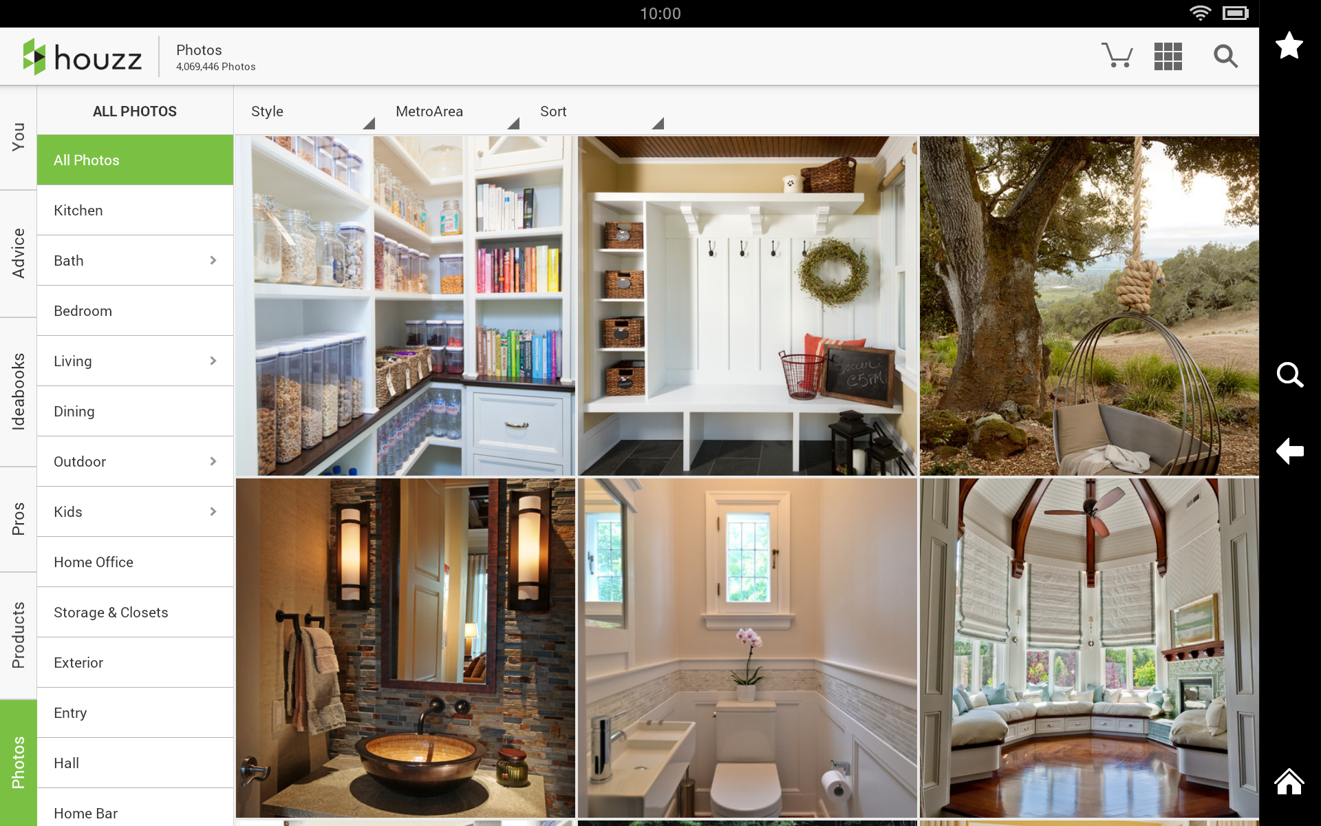 Houzz interior design ideas appstore for android Houzz design app