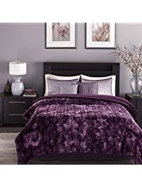 Chanasya Faux Fur Bed Blanket ...