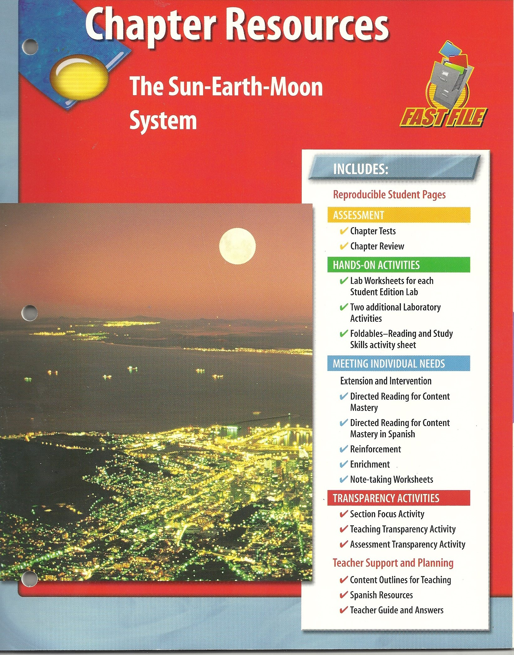 Chapter Resources The Sun Earth Moon System 9780078669606 Amazon