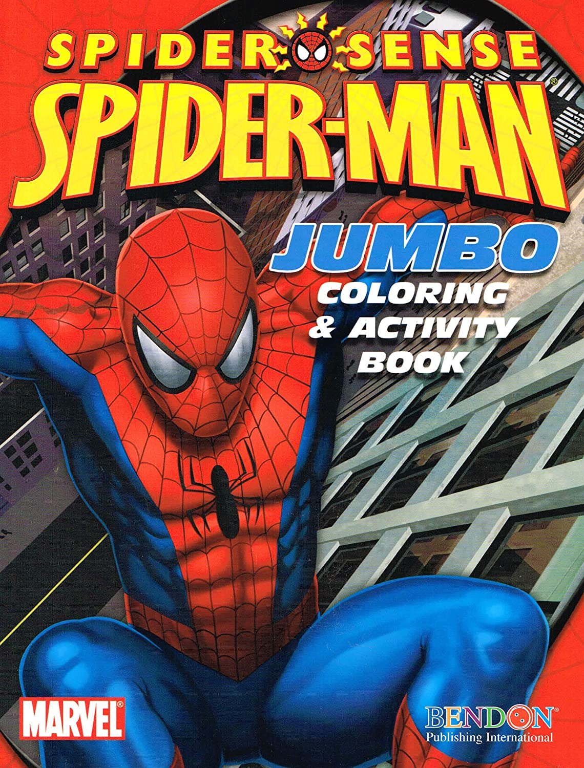 Marvel The Amazing Spider-Man Jumbo Coloring & Activity Book (Assorted  Coverart)