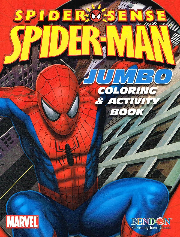 - Amazon.com: Marvel The Amazing Spider-Man Jumbo Coloring
