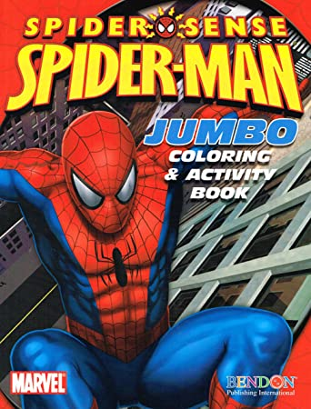 Amazon.com: The Amazing Spider-Man Jumbo Coloring & Activity Book ...