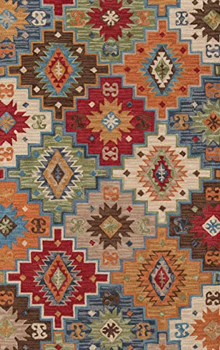 Momeni Rugs Tangier Collection Area Rug, 2 0 x 3 0 , Multicolor