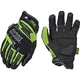 Mechanix Wear - Hi-Viz M-Pact 2 Gloves (X-Large, Black/Fluorescent Yellow)