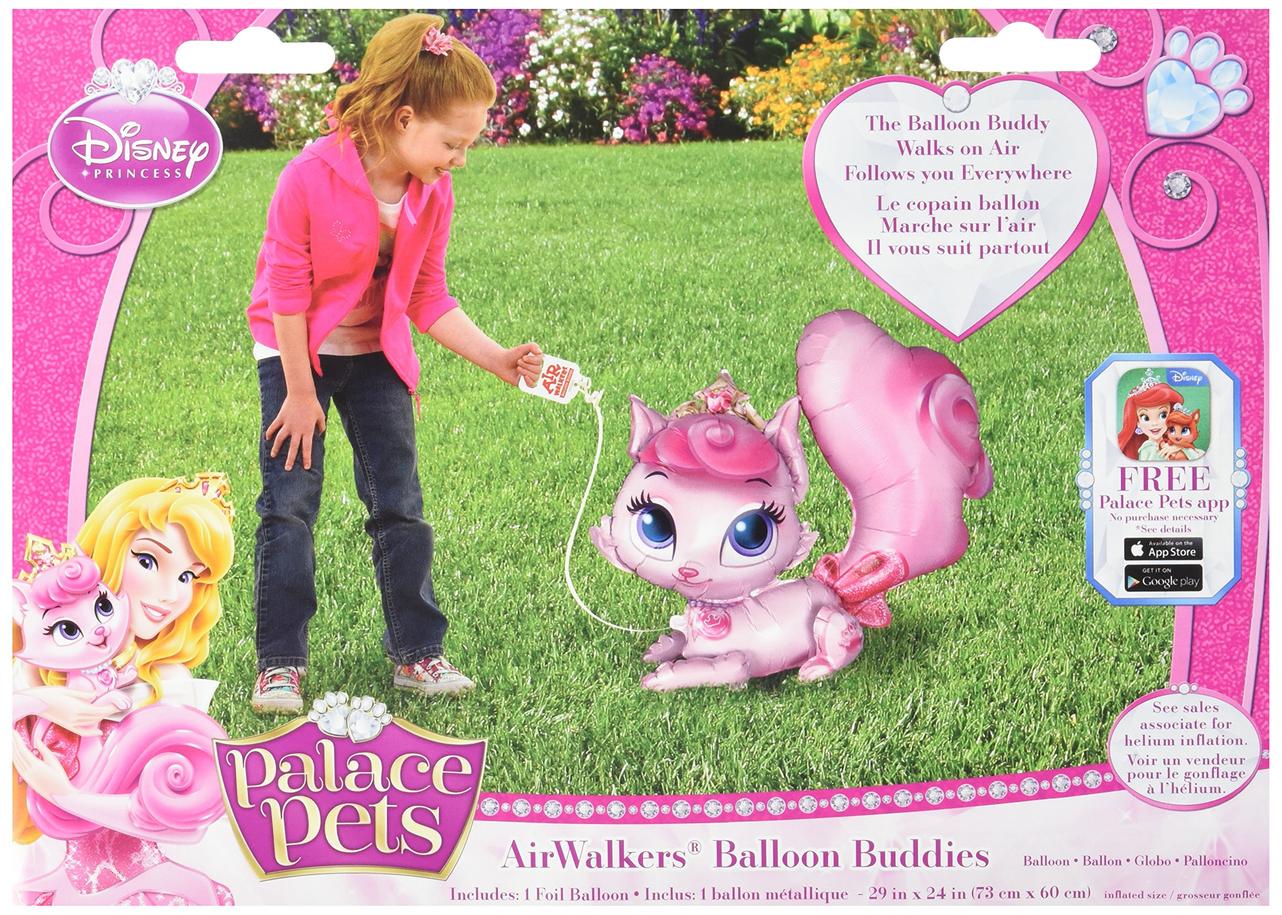 Anagram International Palace Pets Beauty Balloon Buddy Air Walker, Multi-Color
