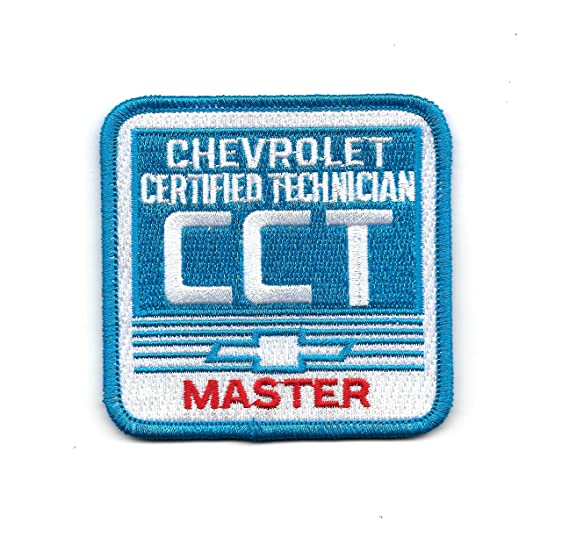 Amazon.com: Chevrolet Certified Technician CCT MASTER Patch: Clothing