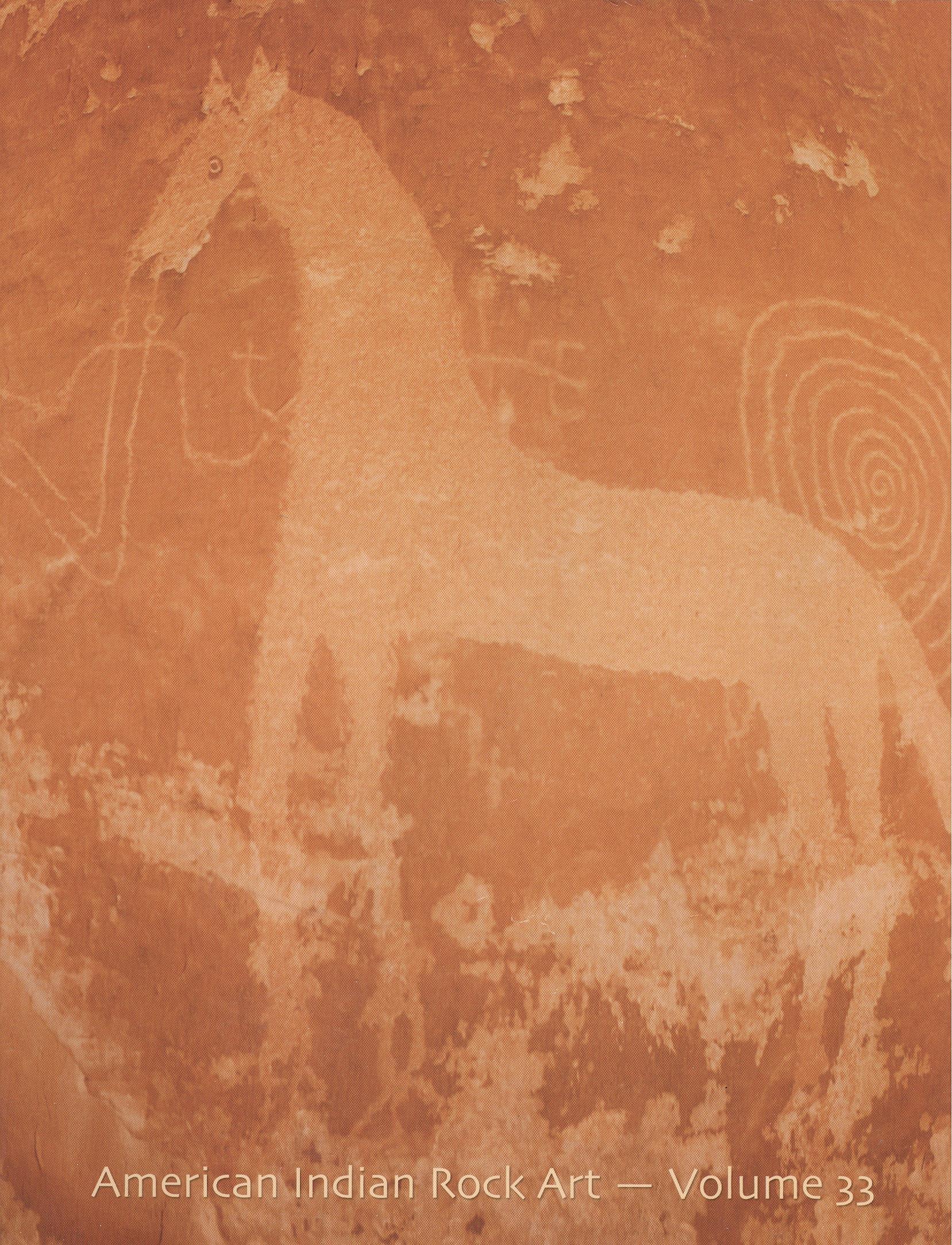 American Indian Rock Art, Vol. 33 pdf epub
