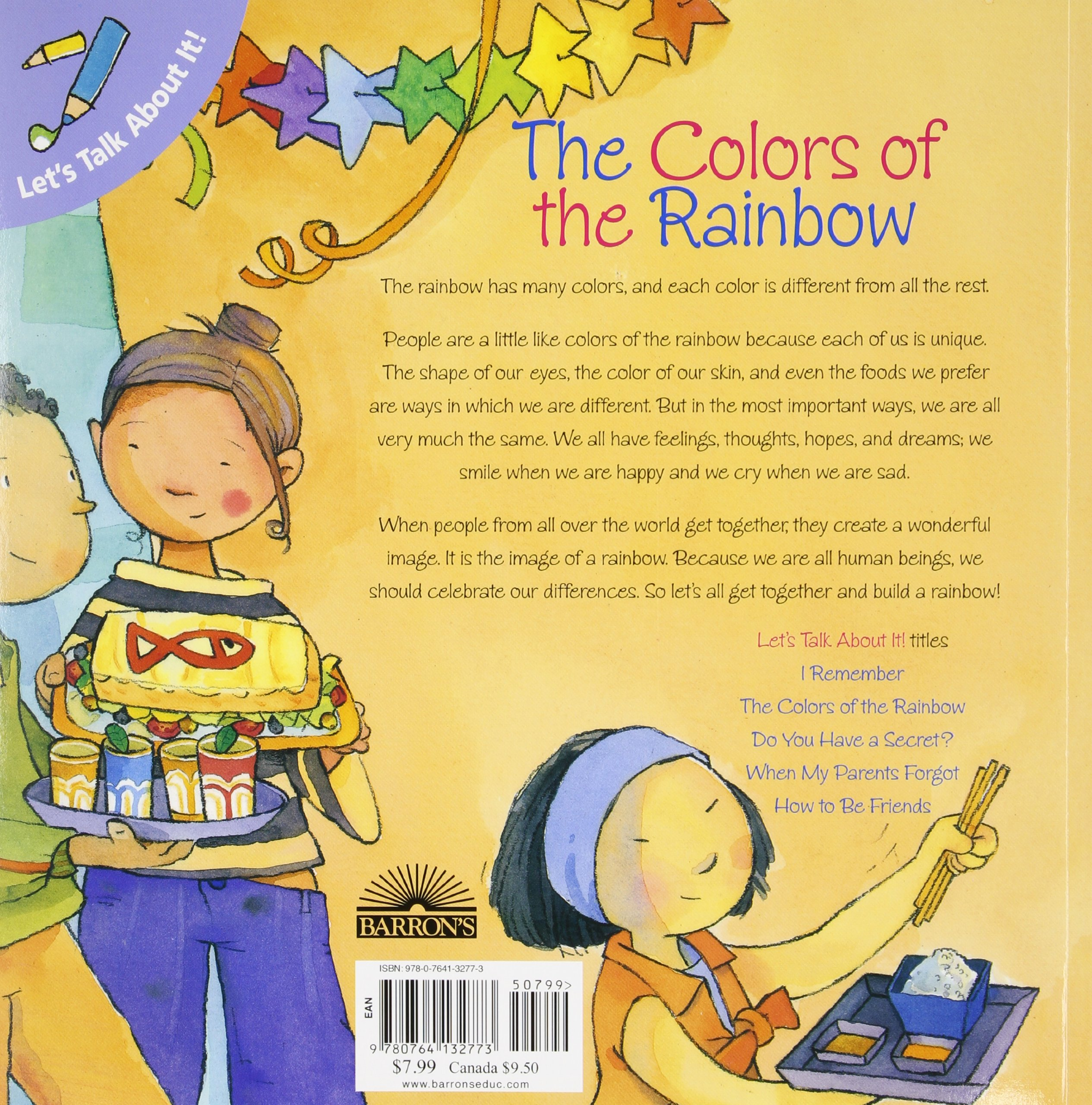 the colors of the rainbow let s talk about it books jennifer