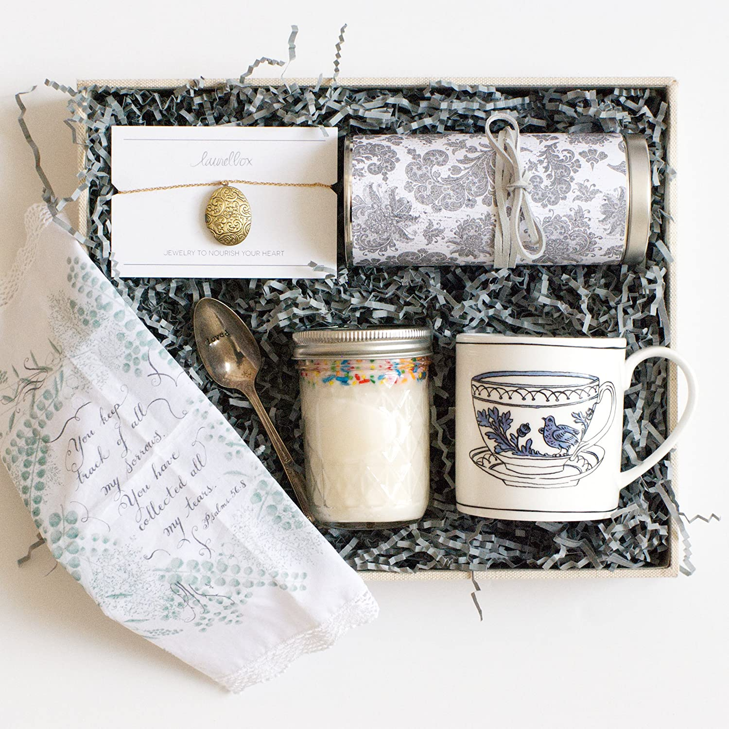Amazon.com: Sympathy Gift Box for Bereaved Mothers - Journey of Grief Gift Box Set: Home & Kitchen
