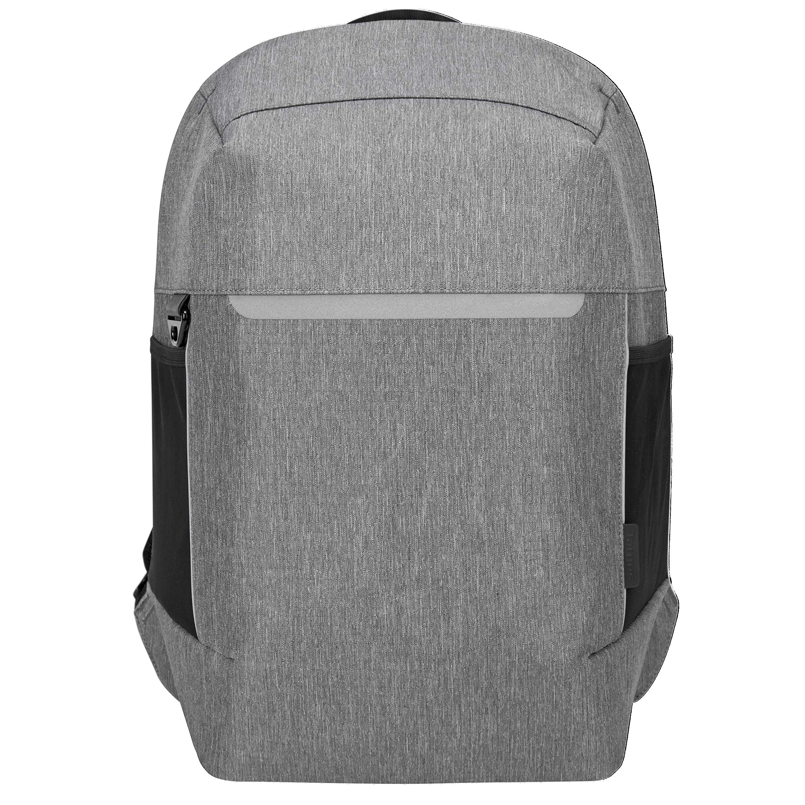 Targus CityLite Pro Modern Security Backpack for 12-Inch to 15.6-Inch Laptop, Grey (TSB938GL) by Targus