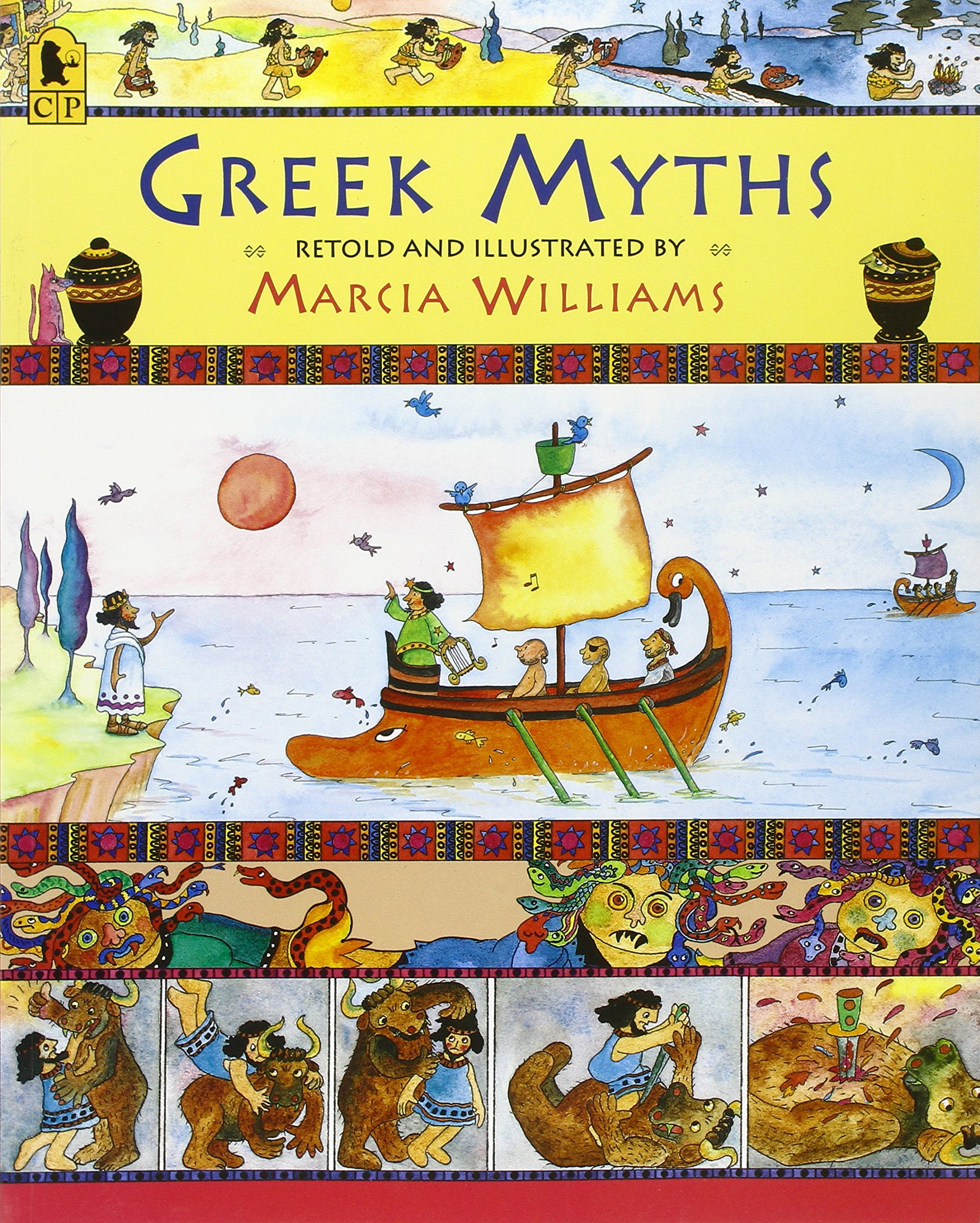 greek myths marcia williams com books