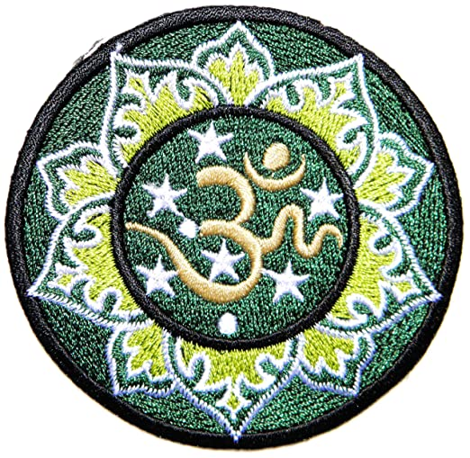 Aum Om Ohm Yoga hindú indio Lotus Lucky Sign Logo Hippie ...
