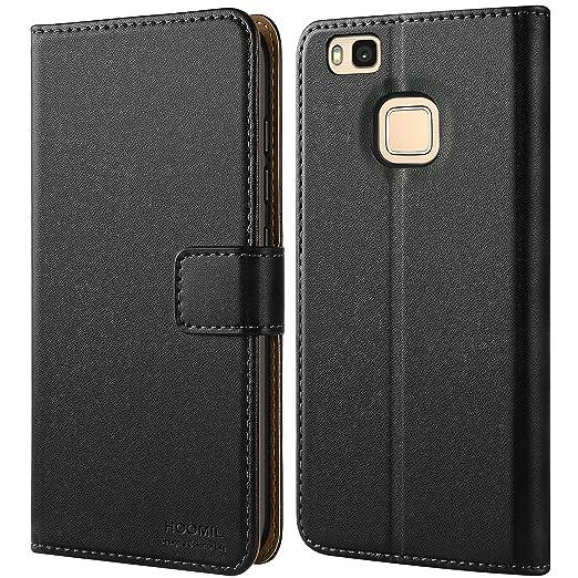 3 opinioni per Cover Huawei P9 Lite, HOOMIL Flip Caso in Pelle Premium Portafoglio Custodia per
