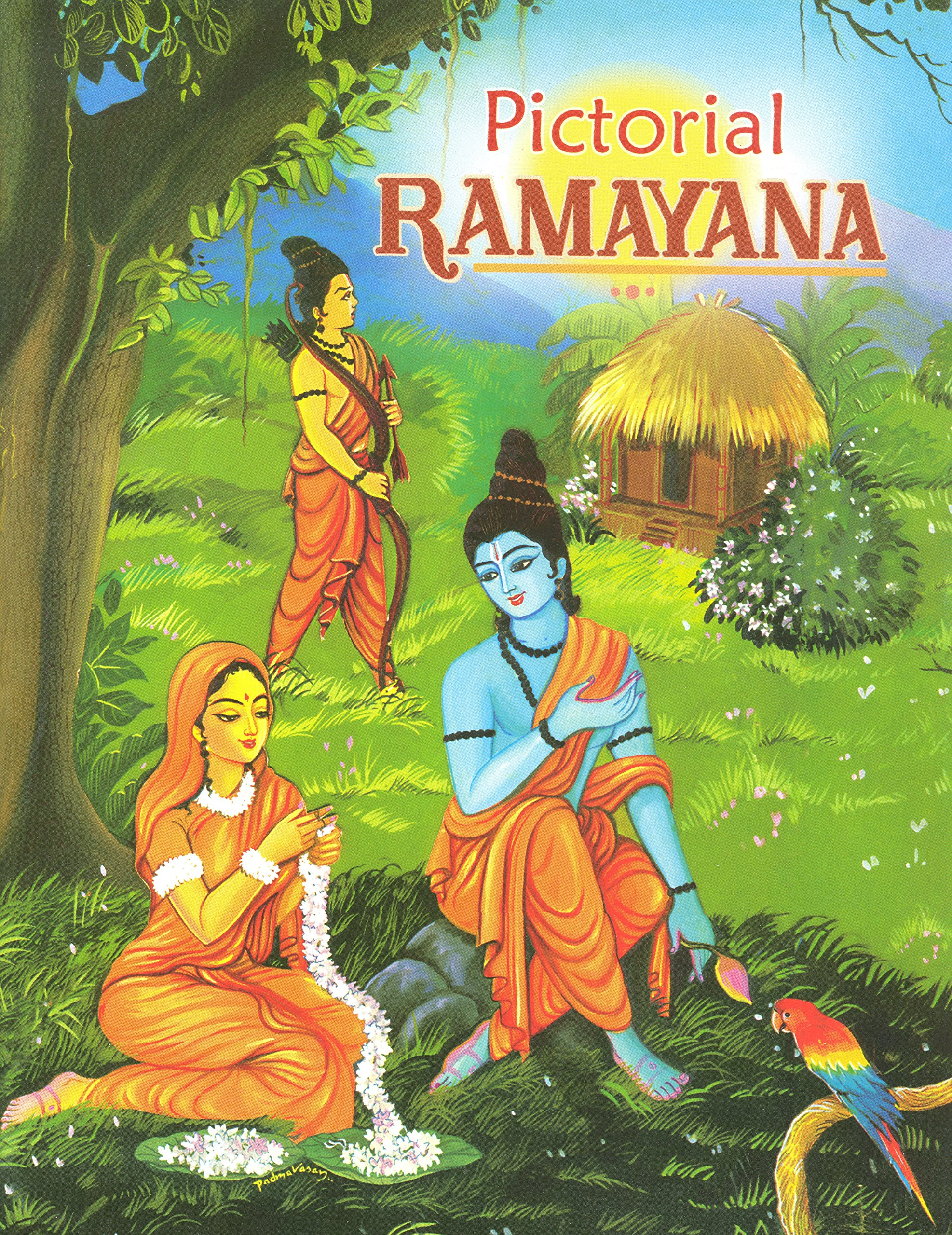 Pictorial Ramayana - For Children: Swami Raghaveshananda