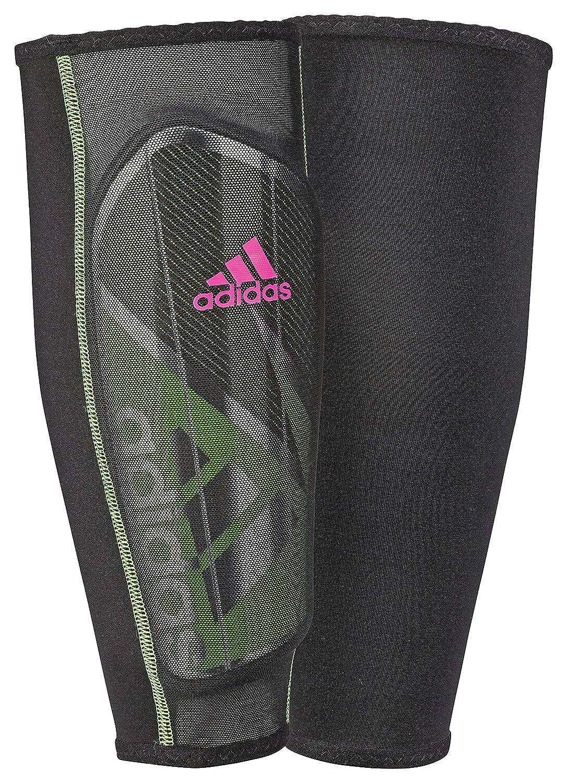 adidasゴーストプロシンガードすねあて B0105YIJ1M Large|Solar Green/Black/Shock Pink Solar Green/Black/Shock Pink Large
