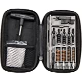 Smith & Wesson M&P Compact Pistol Cleaning Kit for .22 9mm .357 .38 .40 10mm and .45 Caliber Handguns, Black, Model…