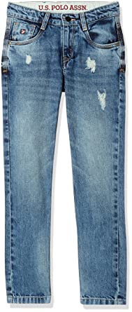 US Polo Assn. Boys' Jeans Boys' Jeans at amazon