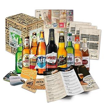 Bier Geschenk Box Mit Internationalen Bieren Geschenkidee Zum Geburtstag Geschenkidee Für Freunde Zum Geburtstag Oder Als Besonderes Geschenk Mit 9