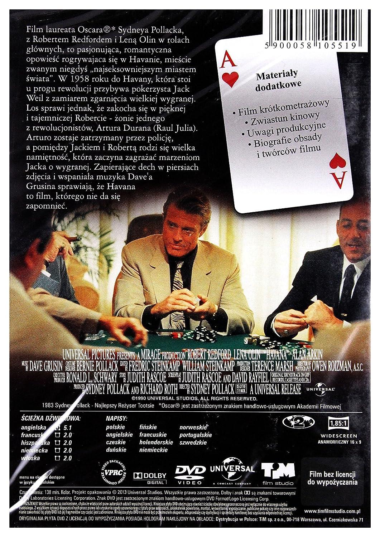 Habana [DVD] (Audio español): Amazon.es: Robert Redford, Lise ...
