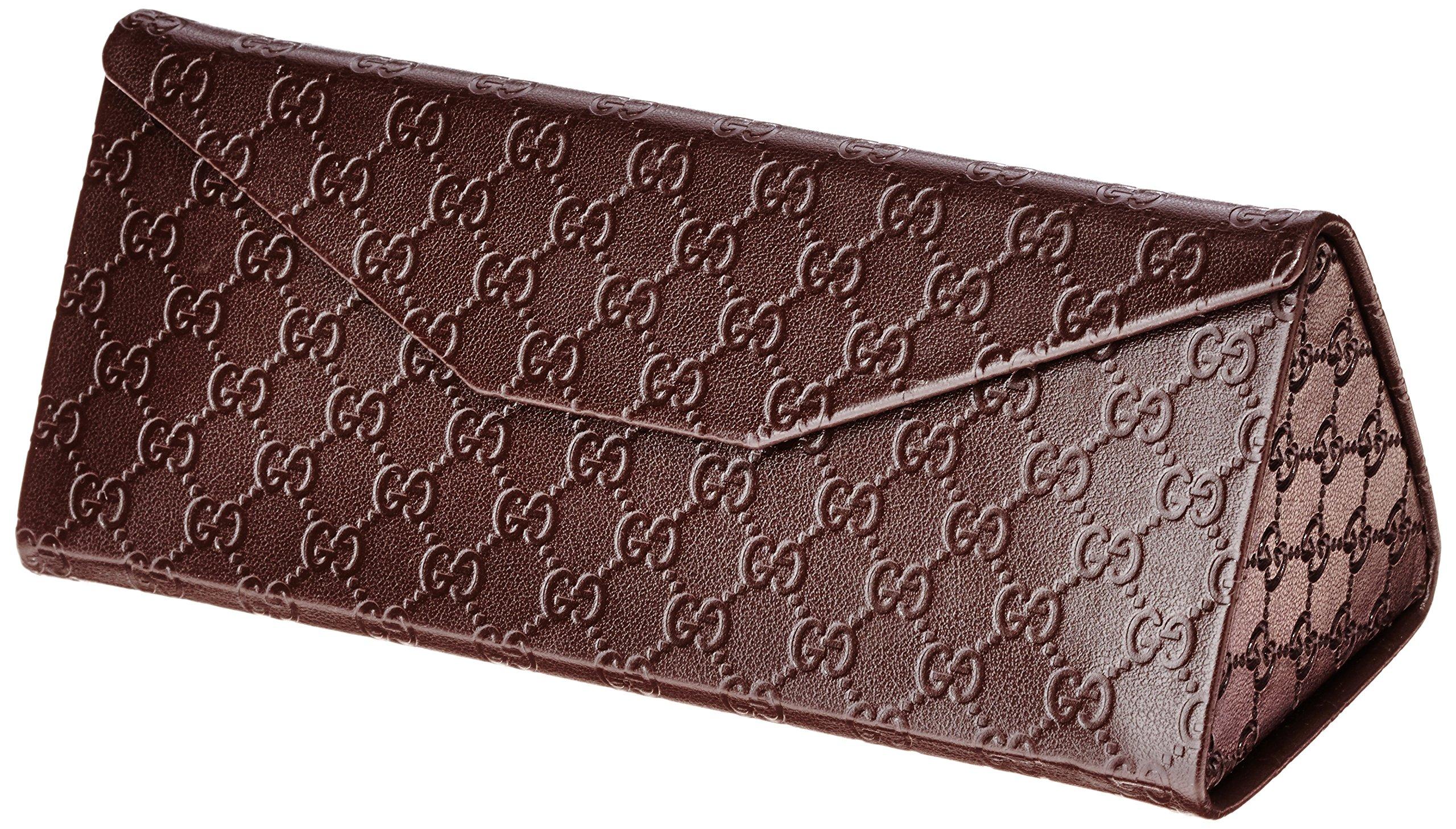 Gucci Men's Square Sunglasses, Matte Blue/Grey Multi, One Size by Gucci (Image #5)