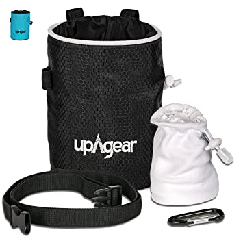 upAgear Chalk Bag - Escalada Bolsas de magnesio con Balón de ...