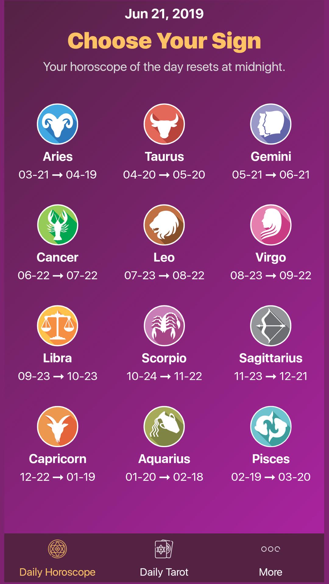 Amazon com: Daily Horoscope - Tarot 2019: Appstore for Android