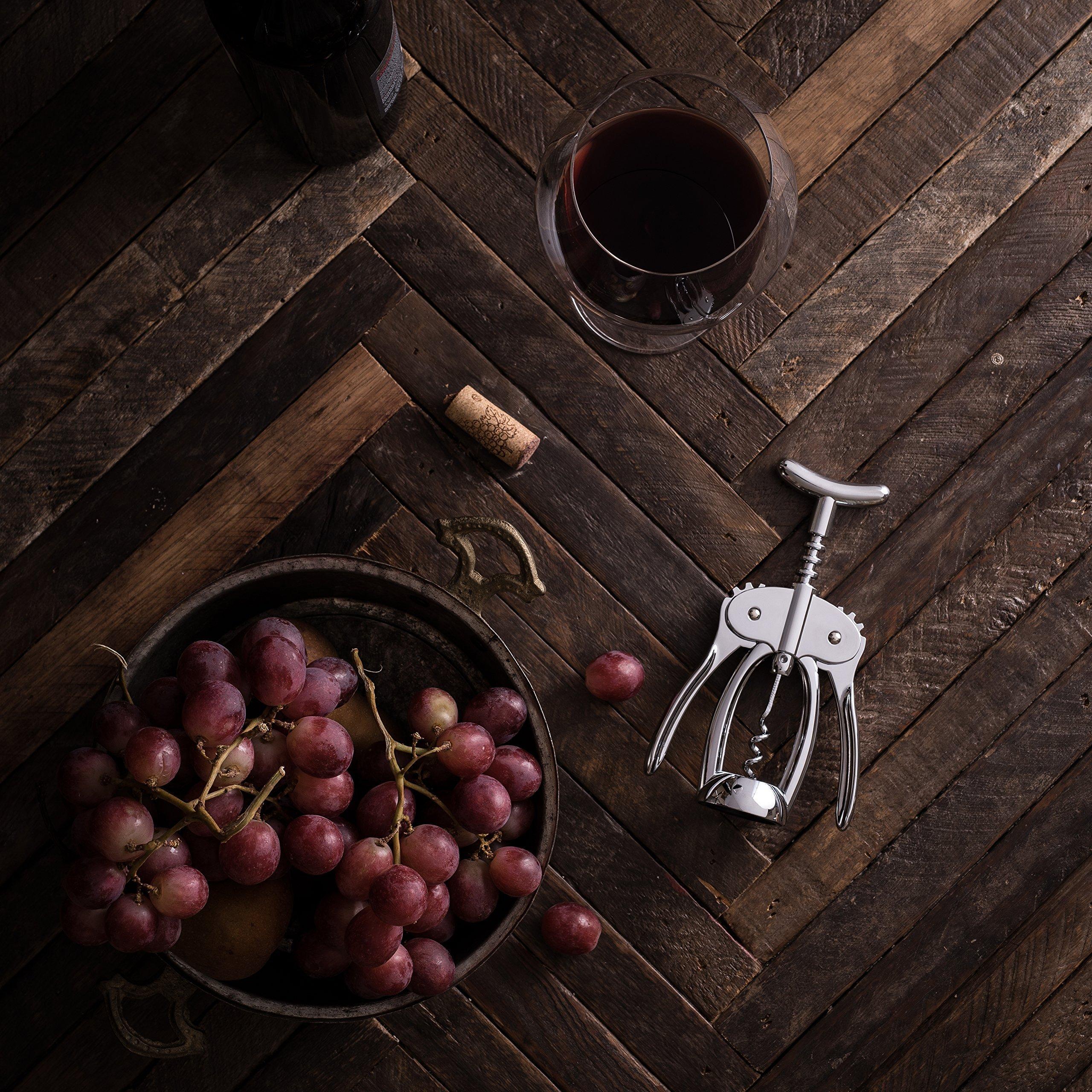 Bellemain Premium Wing Corkscrew Wine Opener Heavy-duty nonstick by Bellemain (Image #6)