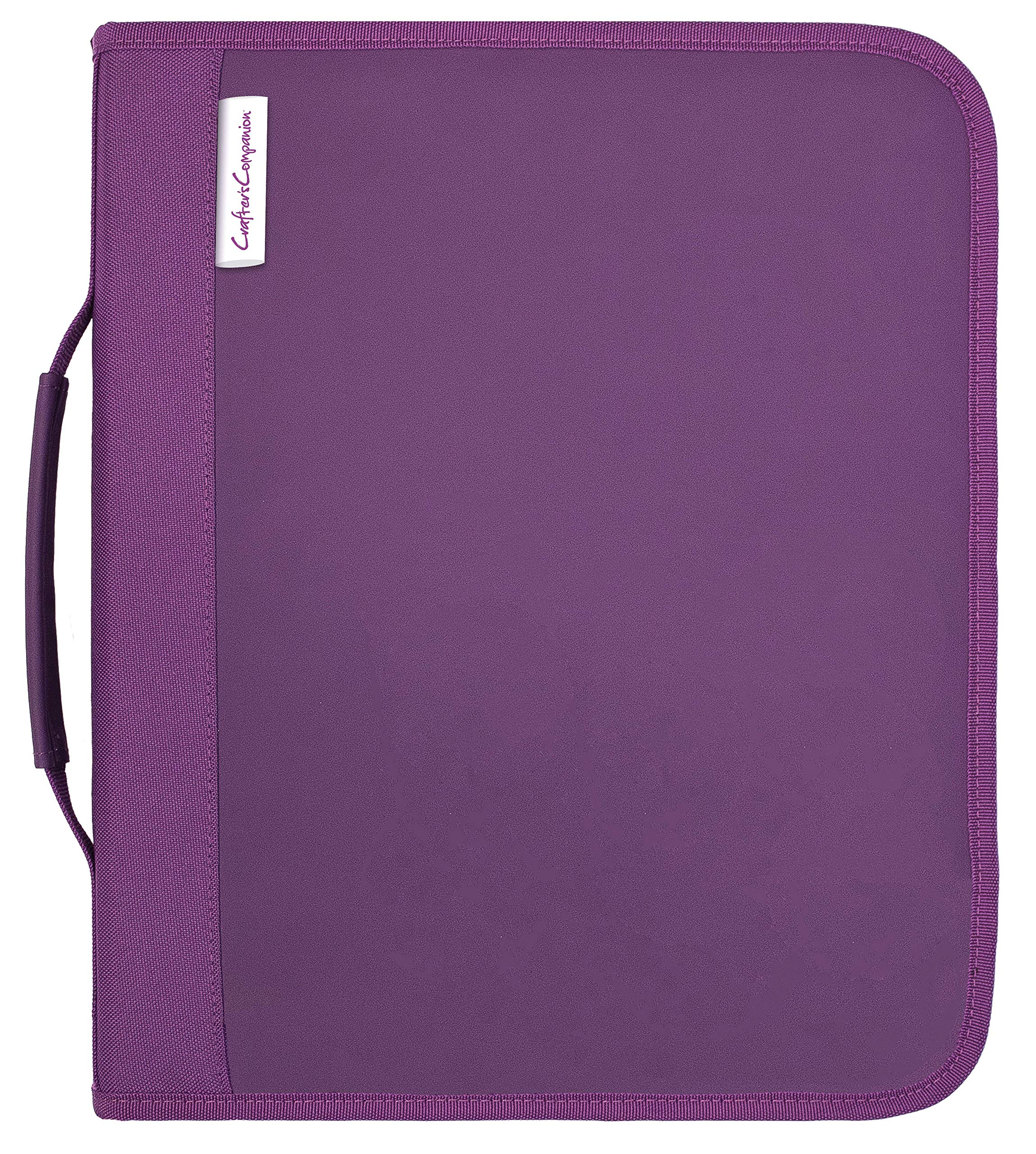 Crafter's Companion CC-STOR-DIE-L Folder-Large Die & Stamp Storage us:one Size Purple