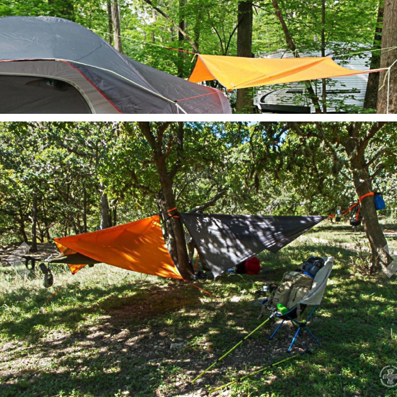 TRIWONDER Imperm/éable /à leau Pluie Mouche hamac Camping abri Tente b/âche Empreinte Parasol Tapis pour la randonn/ée Sac /à Dos Plage Pique-Nique