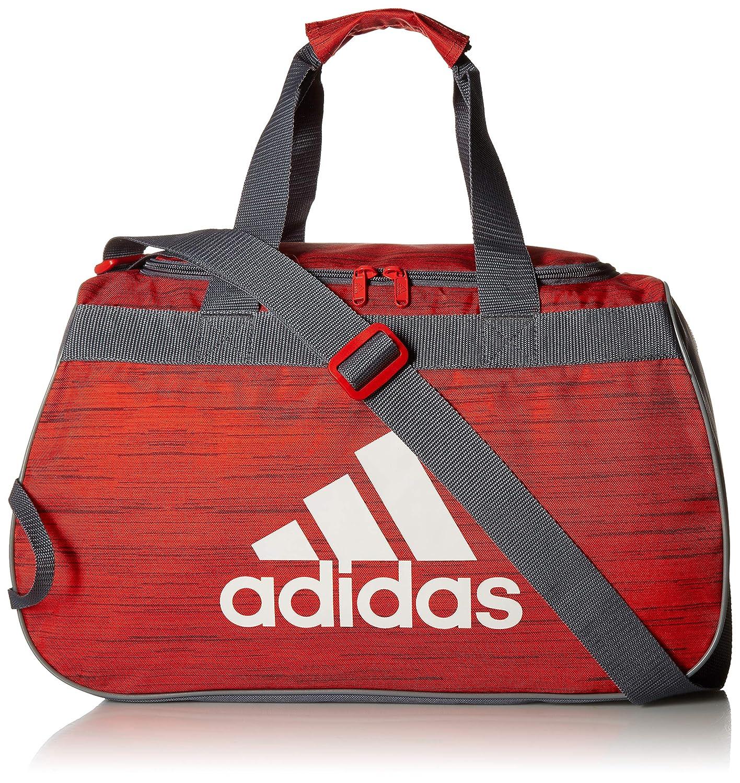 68943a63e3e Amazon.com: adidas Diablo Duffel Bag, Active Red Looper/Onix/Grey, One  Size: Clothing