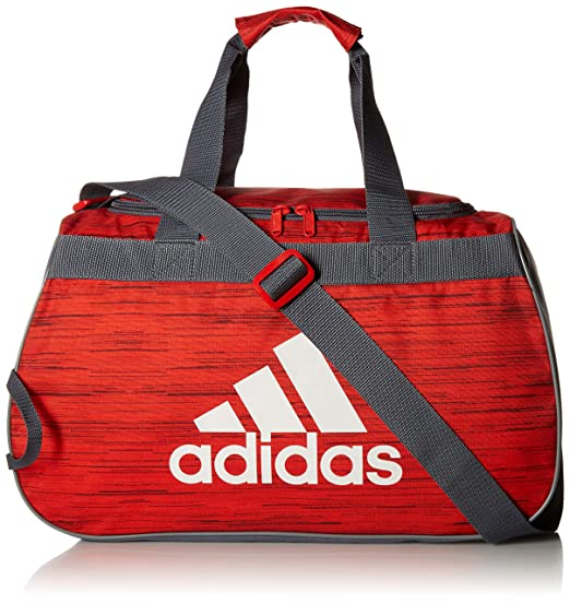 1eb473985 Amazon.com: adidas Diablo Duffel Bag, Active Red Looper/Onix/Grey ...