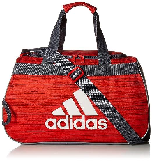 7114a7b87c1064 Amazon.com: adidas Diablo Duffel Bag, Active Red Looper/Onix/Grey ...