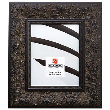 Craig Frames Borromini 18 By 24 Inch Ornate Picture Frame Black Walnut