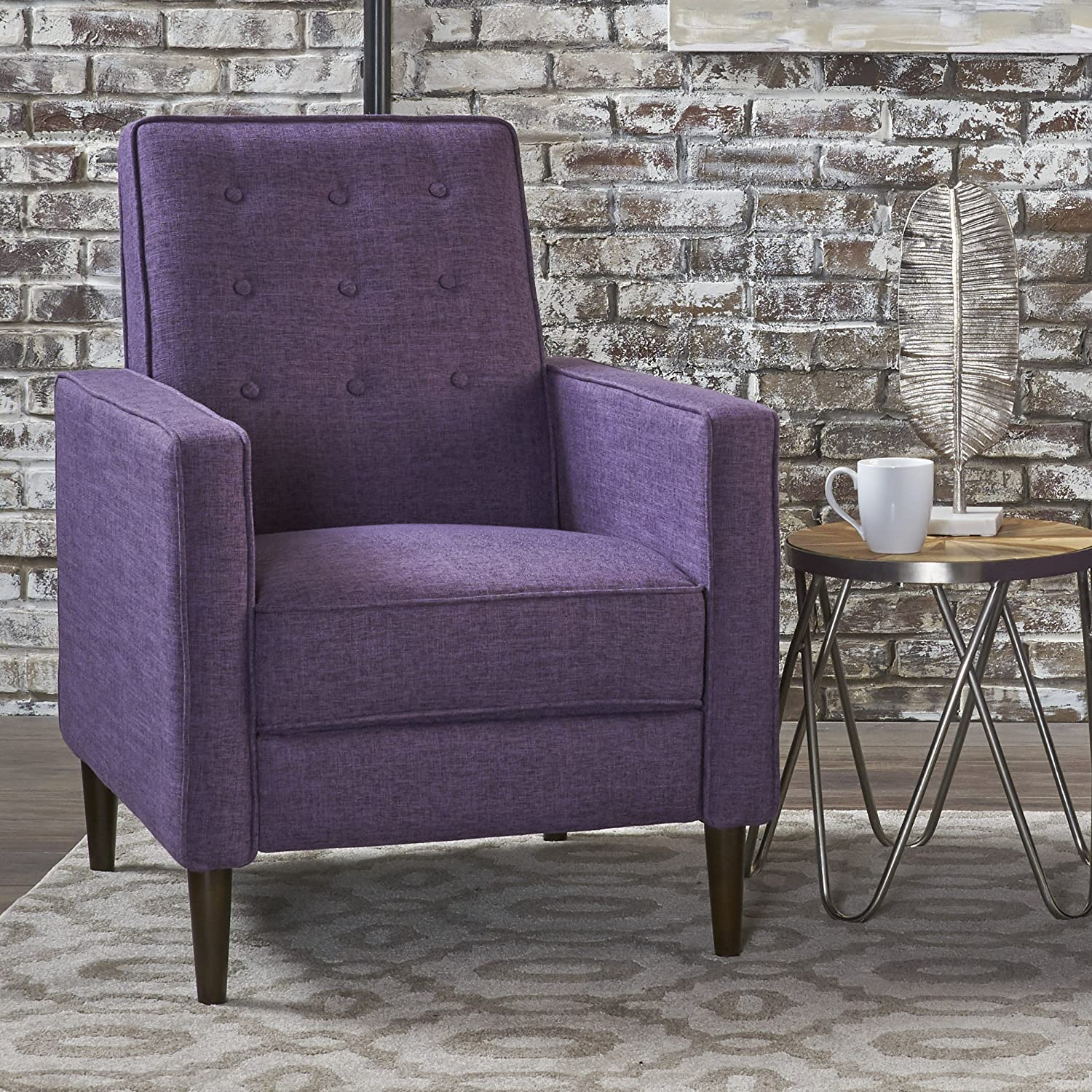 Christopher Knight Home 301372 Mason Recliner, Single, Muted Purple