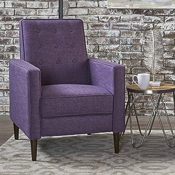 Awe Inspiring Amazon Com Christopher Knight Home 301372 Mason Recliner Machost Co Dining Chair Design Ideas Machostcouk