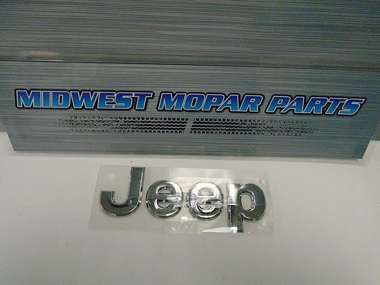 Chrysler Genuine Hood Nameplate 5182390AB