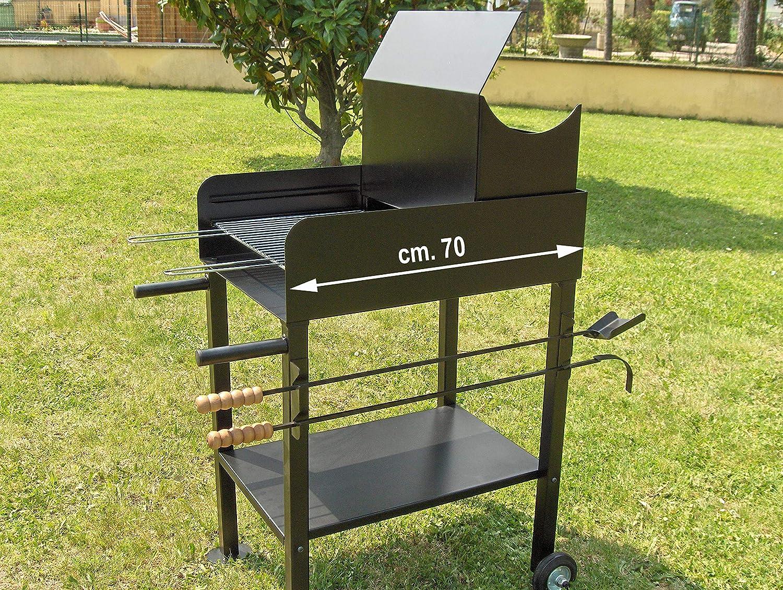 Giemme Spoleto Barbecue a Legna Piccolo cm 50 X 70
