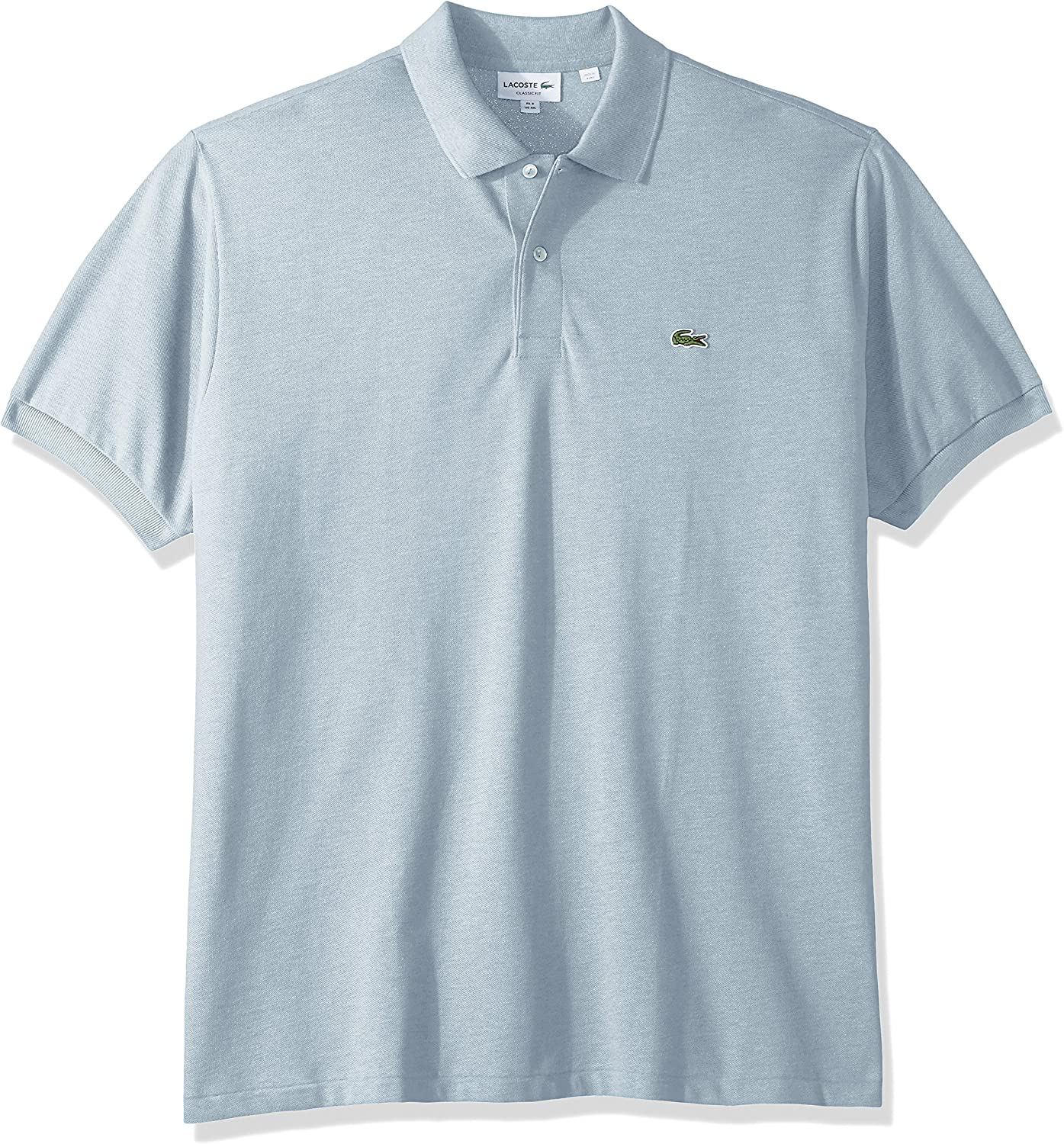 Lacoste Mens Short Sleeve Pique Classic Fit Chine Polo Shirt L1264
