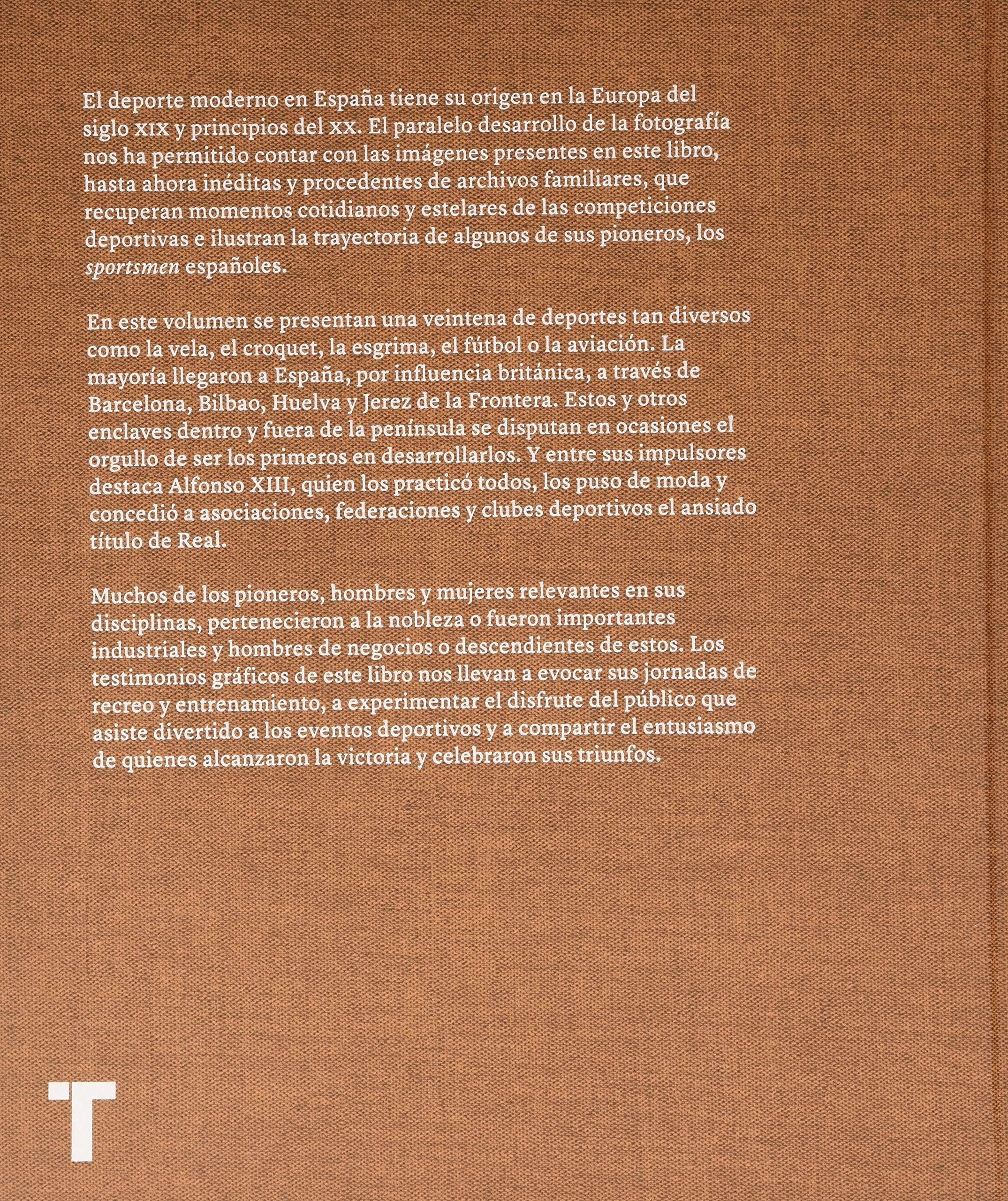 Sportsmen: Pioneros del deporte en España 1869-1939 Arte y Fotografía: Amazon.es: IÃaki Bergera: Libros