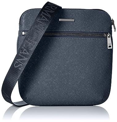 Armani Jeans Men s 0622ZT2 Shoulder Bag Blue Blau (BLU - BLUE G8 ... f3d0dc670bfce