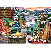 Ravensburger Cozy Series: Apres All Day 500 Piece Large Format Jigsaw Puzzle for Adults - Every Piece is Unique…