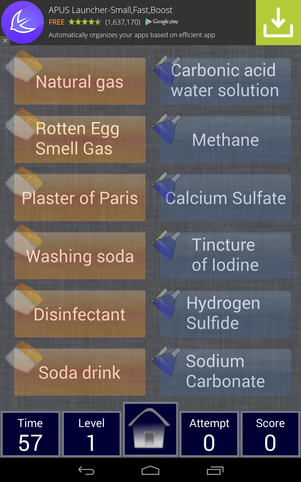 Match chemistry