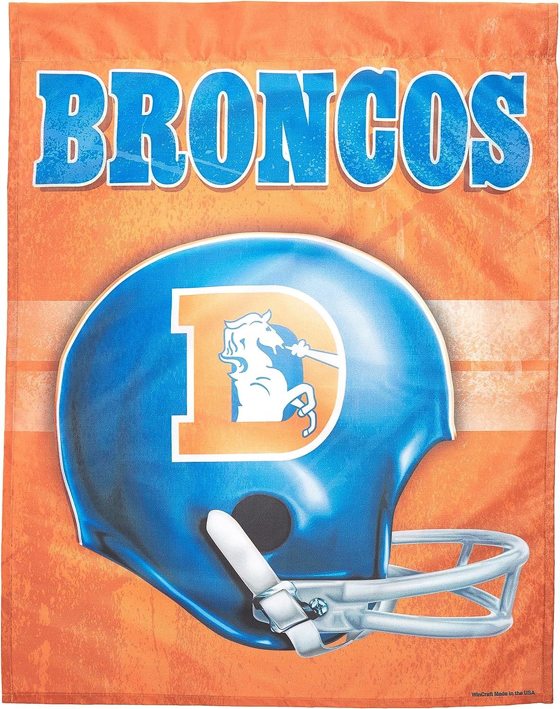 WinCraft NFL Denver Broncos 72639091 Vertical Flag Black Small
