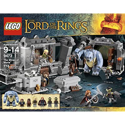 LEGO The Lord of the Rings Hobbit The Mines of Moria (9473): Toys & Games