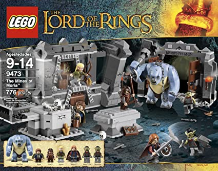 Amazoncom Lego The Lord Of The Rings Hobbit The Mines Of Moria