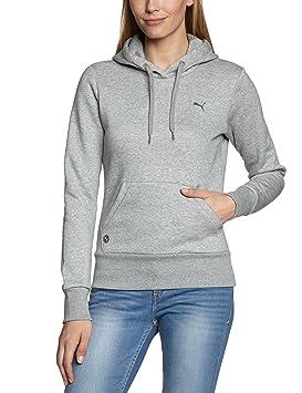 Puma Sweatshirt ESS Hoodie Fleece - Sudadera, color gris plateado, talla L: Amazon.es: Deportes y aire libre
