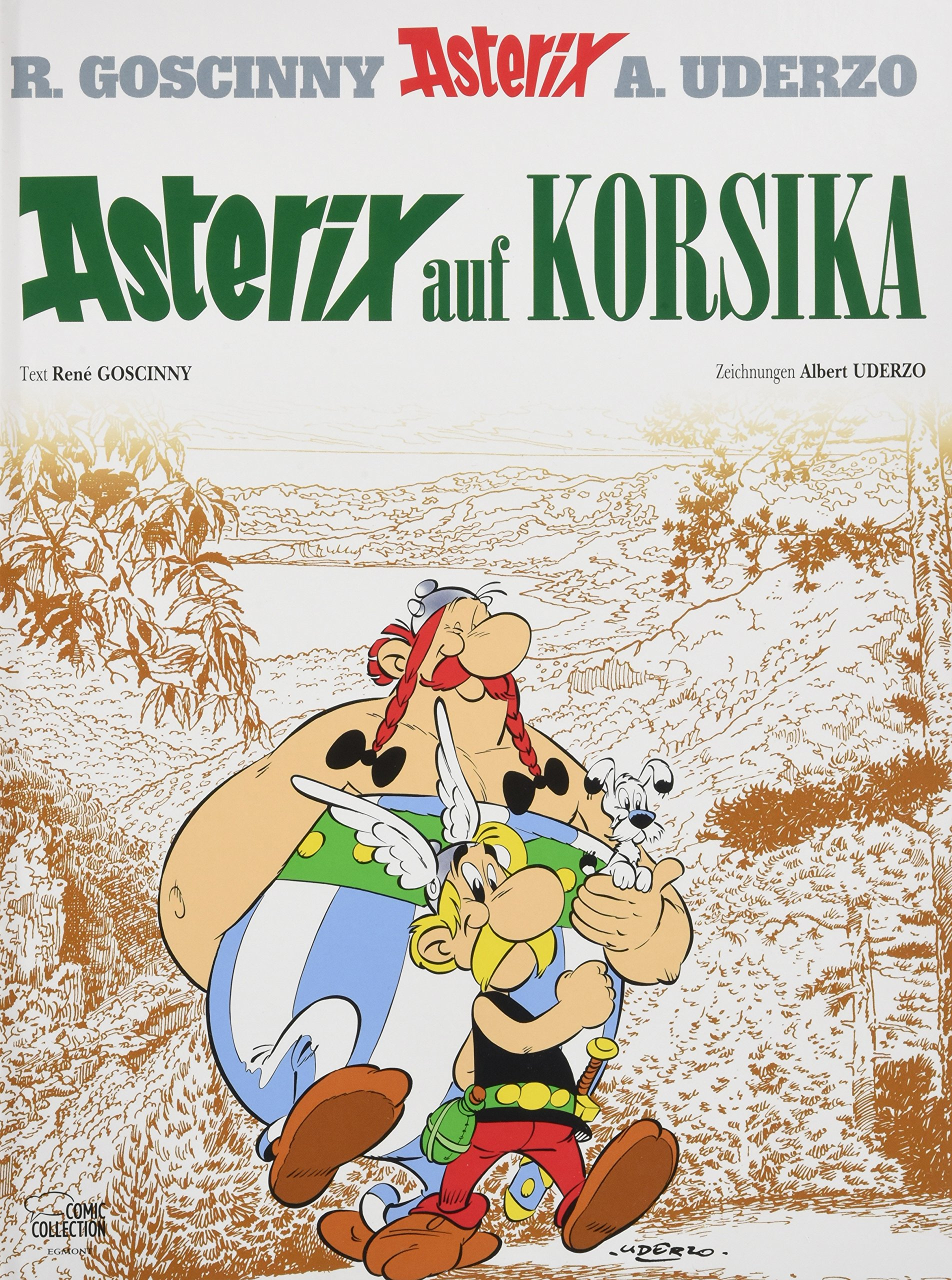 Asterix 20: Asterix auf Korsika