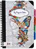 Undated Coloring Planner Calendar - 6 by 9 Inch 100 Pages by Scraft Artise