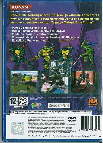 Amazon.com: PS2 - Tennage Mutant Ninja Turtles Mutant Melee ...