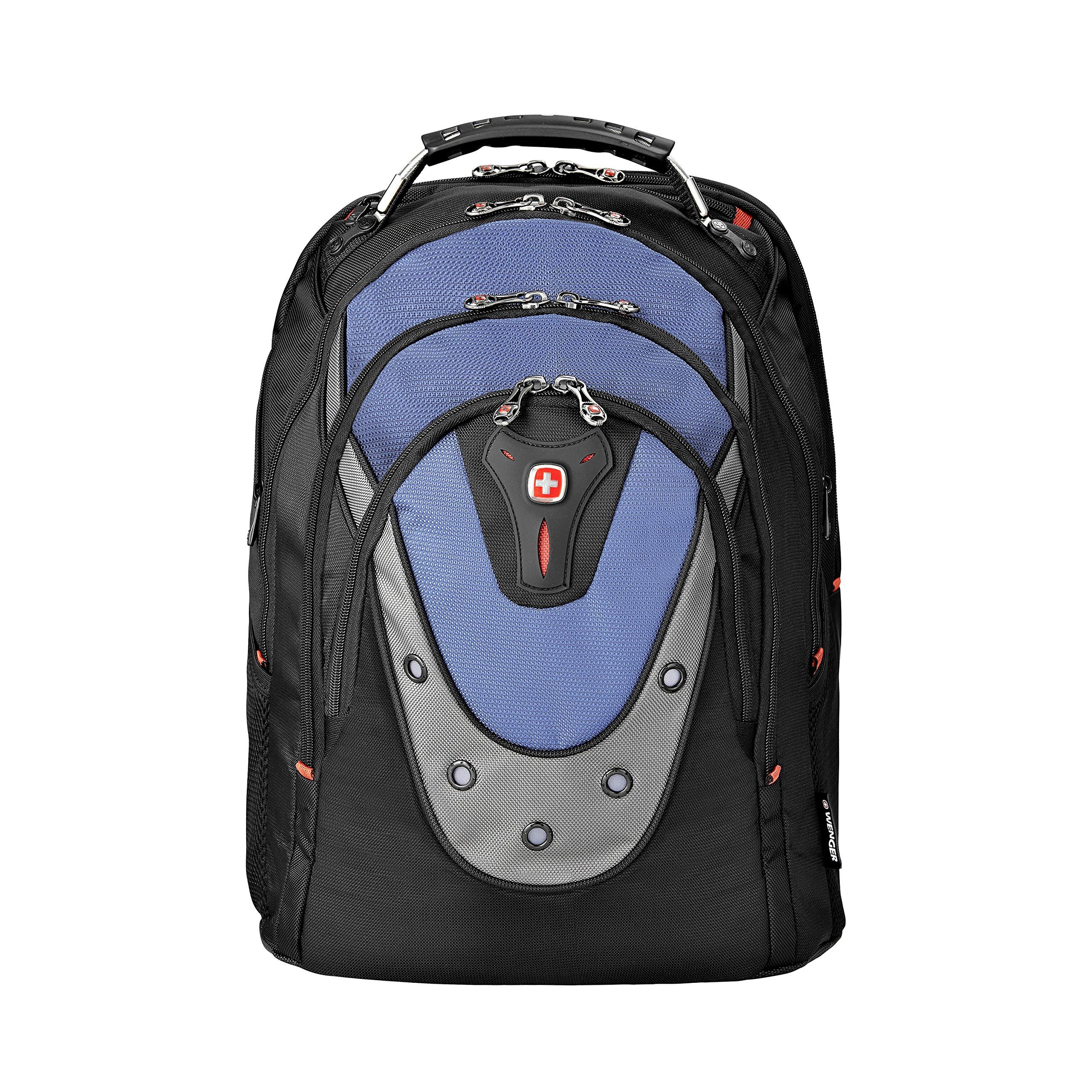 SwissGear Blue Ibex 17'' Computer Backpack, 15''L x 10''W x 19''H